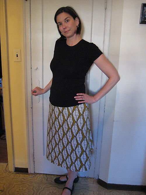 Snakey Diamonds Skirt
